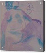 model named Helene Acrylic Print