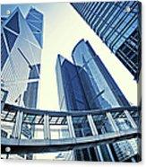 Modern Office Buildings Acrylic Print