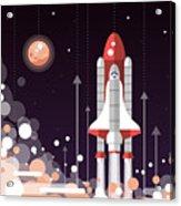 Modern Vectorflat Design Illustration Acrylic Print