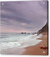 Mohegan Bluffs Beach- Block Island Acrylic Print