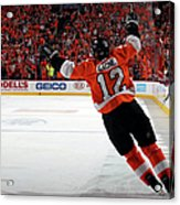 Montreal Canadiens V Philadelphia Acrylic Print