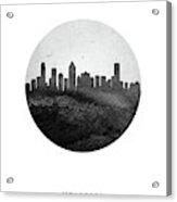 Montreal Skyline Caqcmo04 Acrylic Print