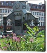 Monument Square Acrylic Print