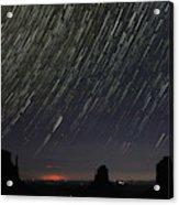 Monumental Star Trails Acrylic Print