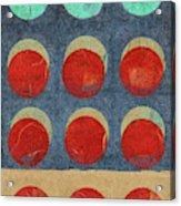 Moon Phases 2 Acrylic Print