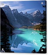 Moraine Lake, Banff National Park Acrylic Print