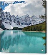 Moraine Lake Range Acrylic Print