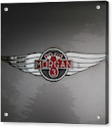 Morgan 3 Hood Ornament Acrylic Print