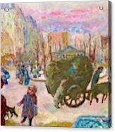 Morning In Paris - Digital Remastered Edition Acrylic Print