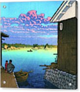 Morning In Yobuko, Hizen - Digital Remastered Edition Acrylic Print