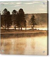 Morning Mists Acrylic Print