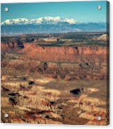 Morning Over Canyonlands Acrylic Print