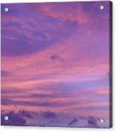 Morning Purples Acrylic Print