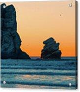 Morro Bay Sunset Acrylic Print