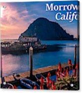 Morrow Bay California Acrylic Print