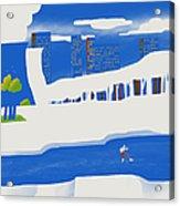 Moscow December Acrylic Print