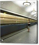 Moscow Metro Acrylic Print