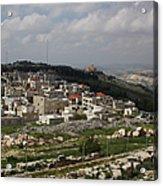 Mount Gerizim, Samaritan Community Acrylic Print