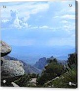 Mount Lemmon View Acrylic Print