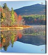 Mount Monadnock In Autumn Acrylic Print