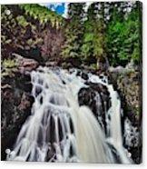 Mount Tremblant Waterfall Acrylic Print