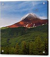 Mountain Peak - Jasper National Park Acrylic Print