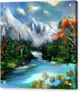 Mountains Majesty Acrylic Print