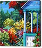 Mr Bodden's Garden Acrylic Print