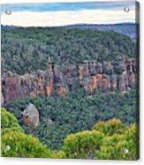 Mt Piddington - Nsw - Australia Acrylic Print