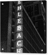 Muehlebach Hotel Kansas City Acrylic Print