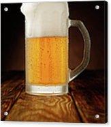 Mug Of Beer Acrylic Print