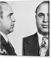 Mugshot Of Gangster Al Capone Acrylic Print