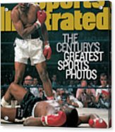 Muhammad Ali, 1965 World Heavyweight Title Sports Illustrated Cover Acrylic Print