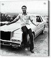 Muhammad Ali Car Acrylic Print