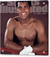 Muhammad Ali The Greatest Sports Illustrated Cover Acrylic Print
