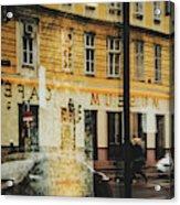 Museum Cafe Acrylic Print