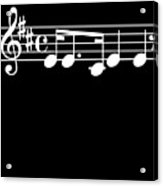 Music Notes Song Good Memory Musician Music Fan Gift Acrylic Print
