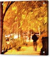 My Blurred World Acrylic Print