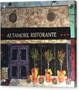 My Favorite Restaurant Acrylic Print