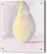 My Pear Acrylic Print