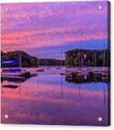 Mystic Lake Sunrise Acrylic Print
