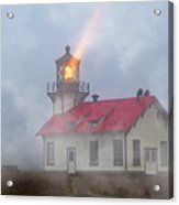 Mystical Point Cabrillo Lighthouse California Acrylic Print