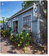 Nantucket Dock Acrylic Print