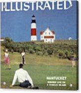 Nantucket Island Golf Sports Illustrated Cover Acrylic Print