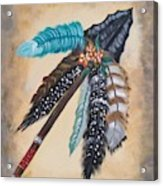 Native American Style  Acrylic Print
