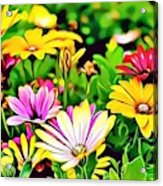 Naturalness And Flowers 35 Acrylic Print