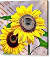 Naturalness And Flowers 60 Acrylic Print