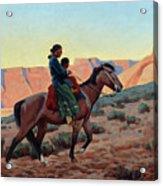 Navajo Mother, 1945 Acrylic Print