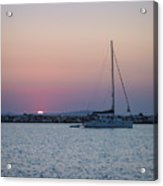 Naxos Island Acrylic Print