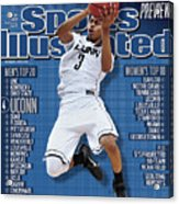 Ncaa Basketball Tournament - Final Four - Semifinals Sports Illustrated Cover Acrylic Print